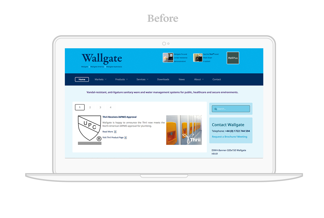 wallgate web design