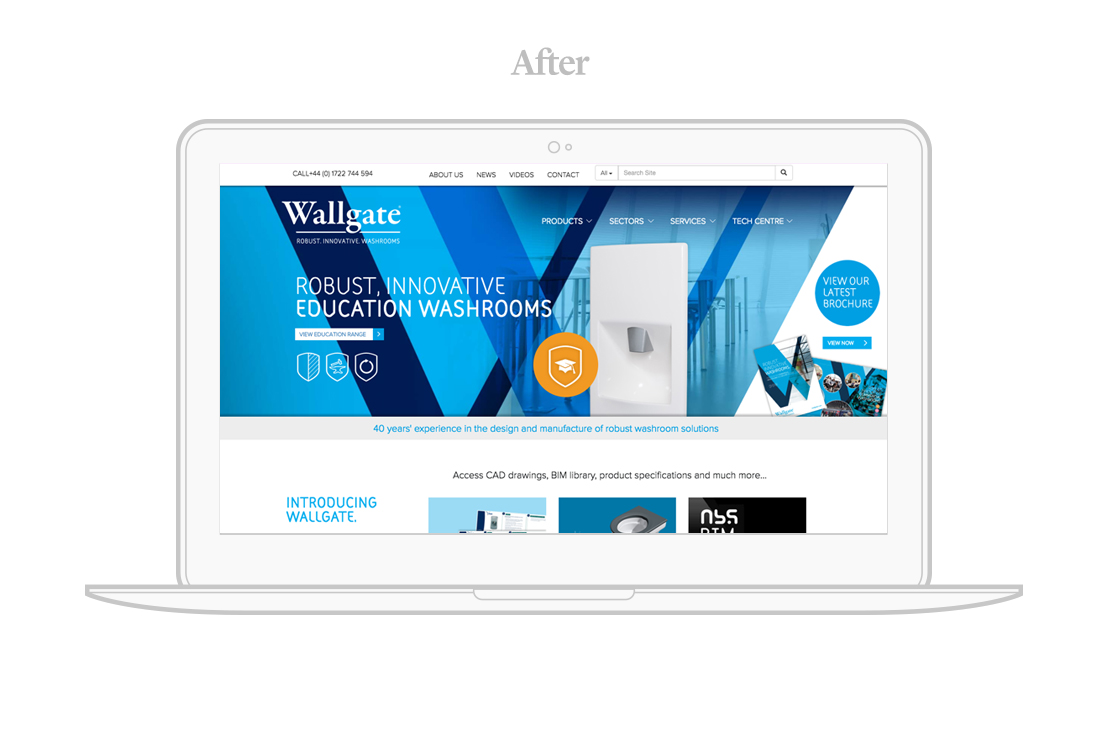 wallgate website project